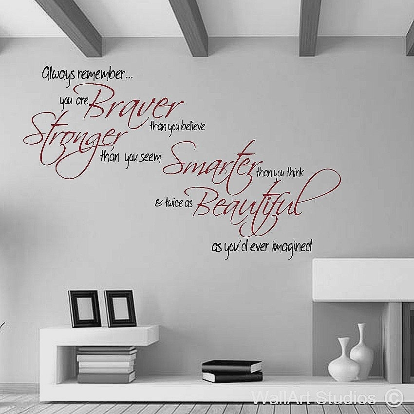 Wall Decals Motivational Quotes Best Of Inspirational Quotes Wall With Inspirational Quotes Wall Art (Image 23 of 25)