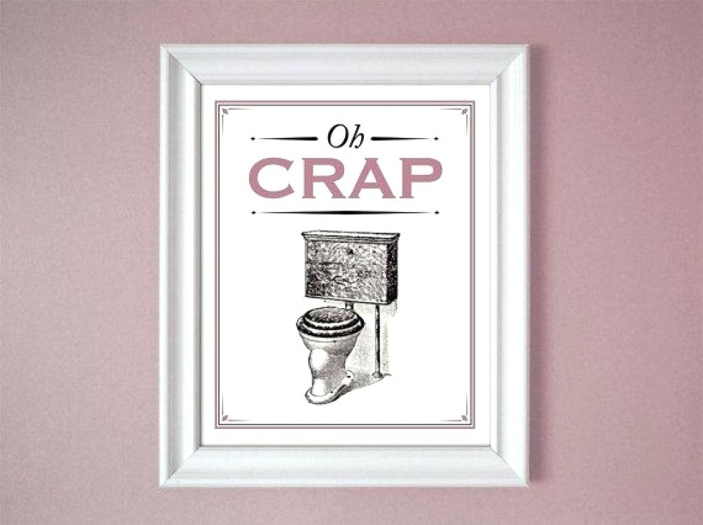 Wall Decor For Bathroom Funny Bathroom Wall Decor Funny Bathroom With Wall Art For Bathroom (View 10 of 20)
