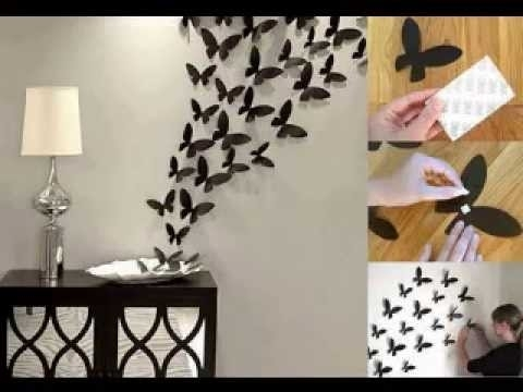 Wall Decor Home Ideas – Youtube With Decorative Wall Art (Image 19 of 20)