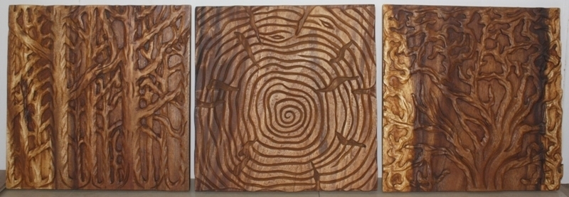 Wall Decor Nature Carved Wood Art Photo Gallery Kan Thai Decor With Wood Art Wall (View 20 of 20)