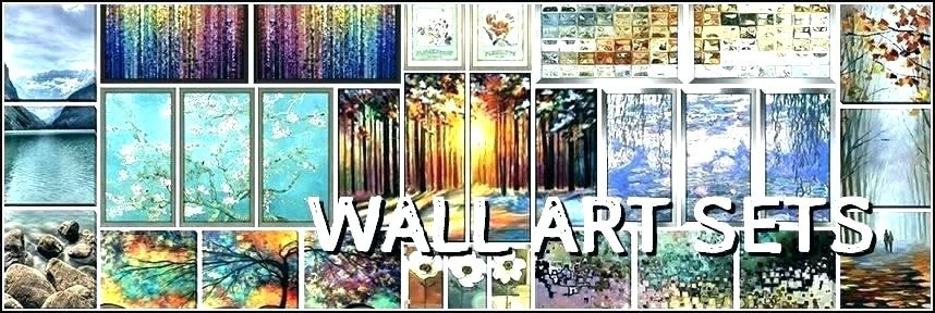 Wall Decor Set Of 2 2 Piece Wall Decor Canvas Wall Art Set Canvas Regarding Set Of 2 Framed Wall Art (Image 24 of 25)