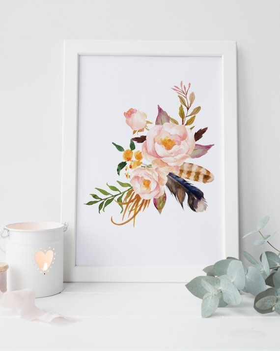 Wall Decoration. Floral Wall Art - Wall Decoration And Wall Art Ideas throughout Floral Wall Art