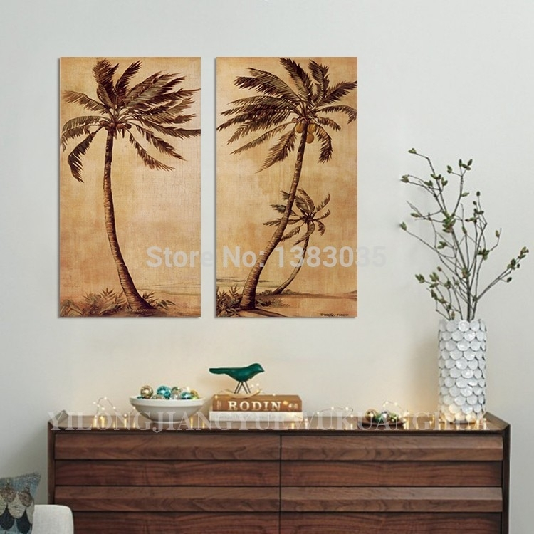 Featured Image of Palm Tree Wall Art