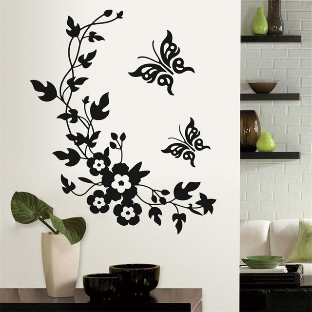 Wall Decoration Stickers 3D Vinyl Wall Stickers Room Stickers Throughout Home Decor Wall Art (View 15 of 20)