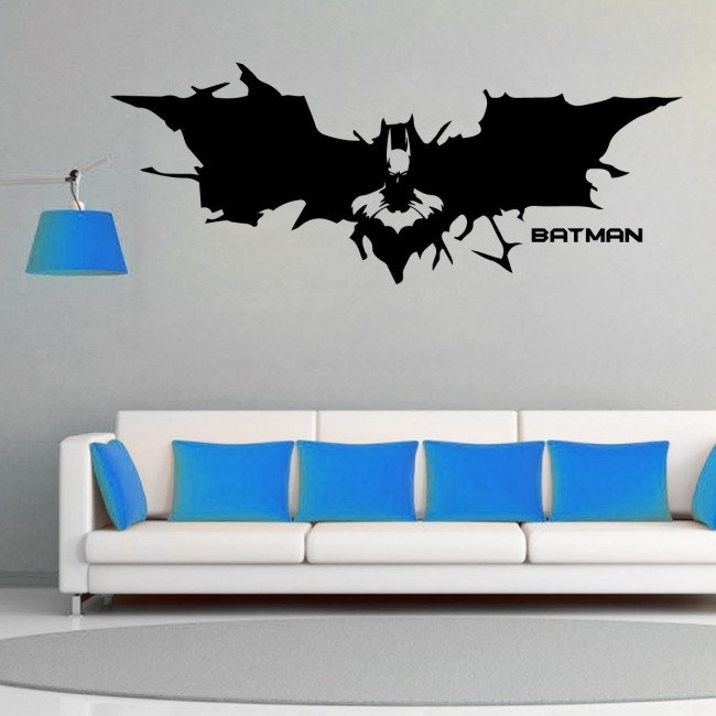 Wall Designer | Batman Movie, Gotham, Bruce Wayne, Superhero – Wall Throughout Superhero Wall Art (Image 19 of 20)