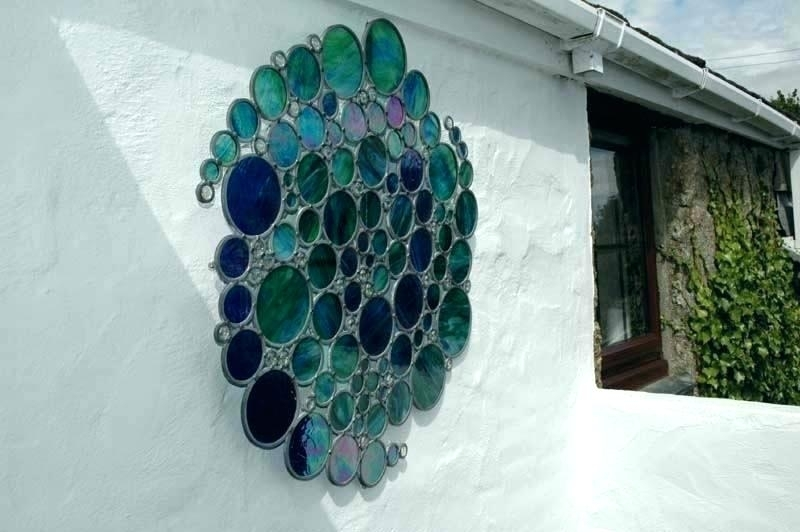 Wall Glass Artwork Blown Glass Wall Art Decor – Expreference for Blown Glass Wall Art