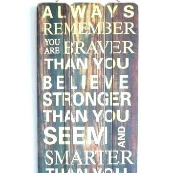 Wall Signs With Quotes Modern Wood Wall Art Quotes Best Of Best With Wood Wall Art Quotes (Image 14 of 20)