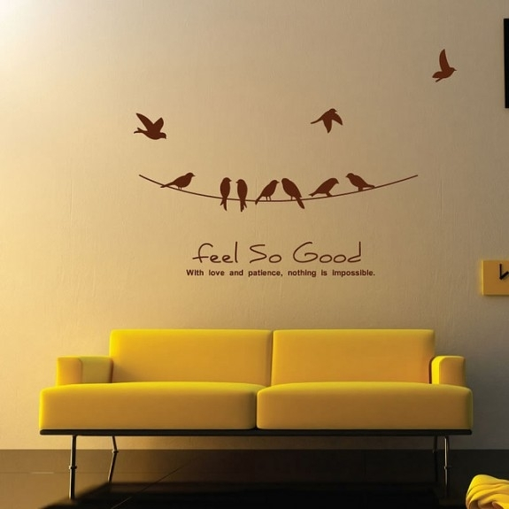 Wall Sticker Art – 1 – In Decors Throughout Wall Sticker Art (Image 8 of 10)