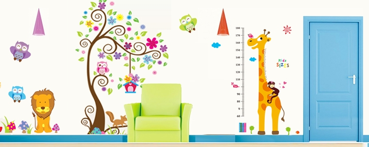 Wall Stickers For Kids – Wall Art Decals – Wall Stickers With Kids Wall Art (Image 9 of 10)