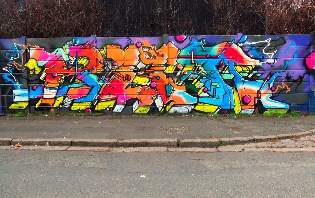 Walls For Artists – Zap Graffiti Liverpool Within Graffiti Wall Art (View 22 of 25)