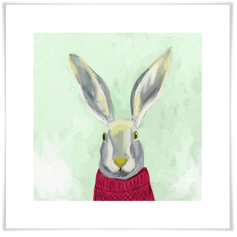 Warm Bunny, Farm & Ranch Canvas Wall Art | Greenbox Throughout Bunny Wall Art (Image 18 of 20)