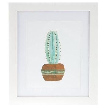 Watercolor Cactus Framed Wall Decor | Hobby Lobby | 1294321 Inside Cactus Wall Art (Image 20 of 20)