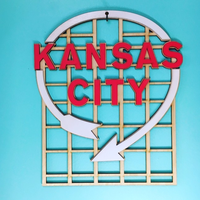 Western Auto / Kansas City Wall Art | Decoylab With Kansas City Wall Art (Image 24 of 25)