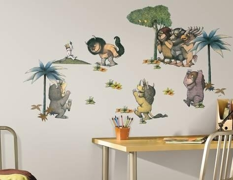 Where The Wild Things Are Peel & Stick Wall Decals Wall Decal – At Within Stick On Wall Art (Image 20 of 20)