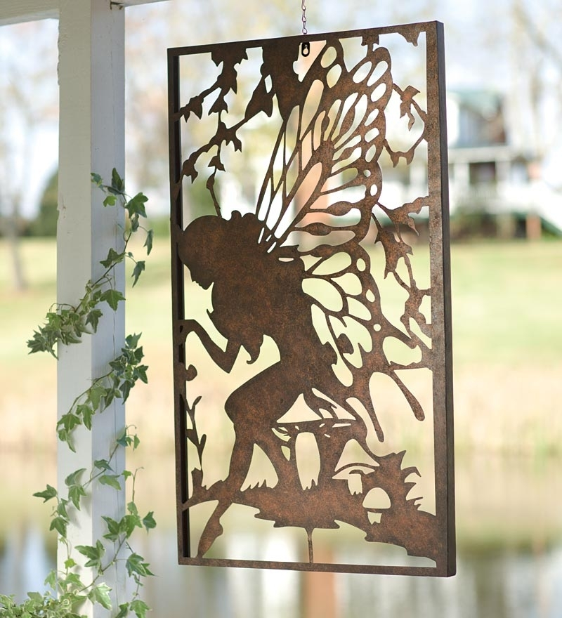 White Outdoor Metal Wall Art Outdoor Metal Wall Art Design Ideas Regarding Metal Outdoor Wall Art (View 7 of 25)