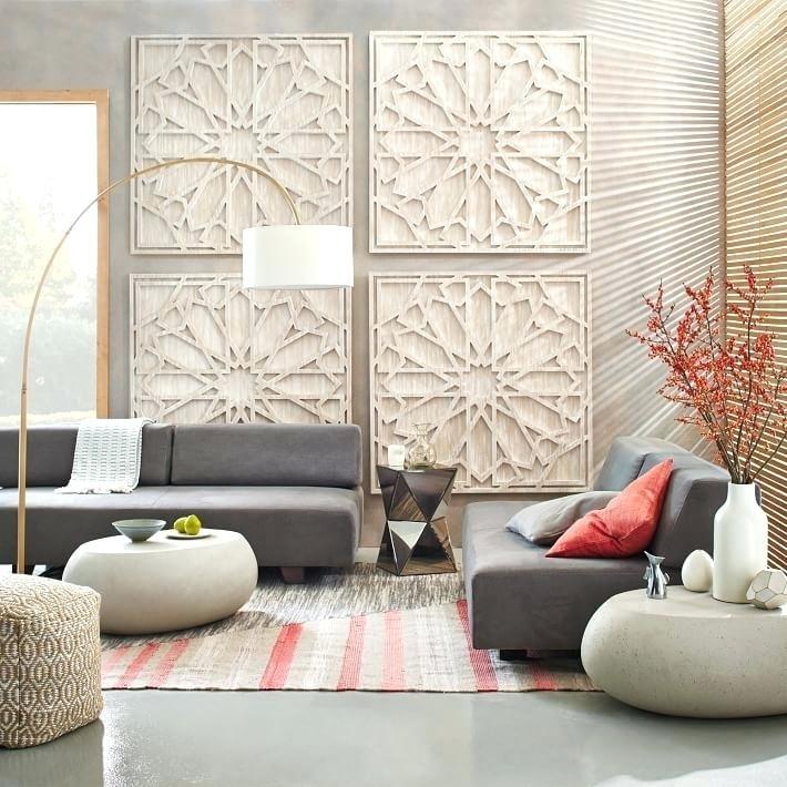 White Wood Wall Art Whitewashed Wood Wall Art West Elm Whitewashed Regarding West Elm Wall Art (View 17 of 25)