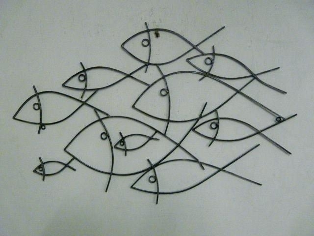 Wire Wall Art Decors Best Wire Art Fish Whales And Similar Images On Regarding Wire Wall Art (Image 18 of 25)