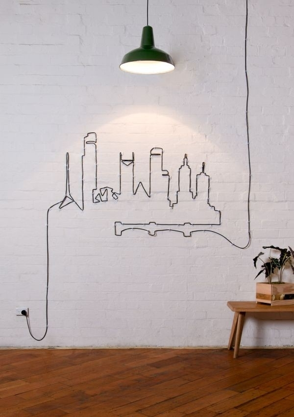 Wire Wall Art Diy – Jumpstartcoffee Intended For Wire Wall Art (Image 20 of 25)