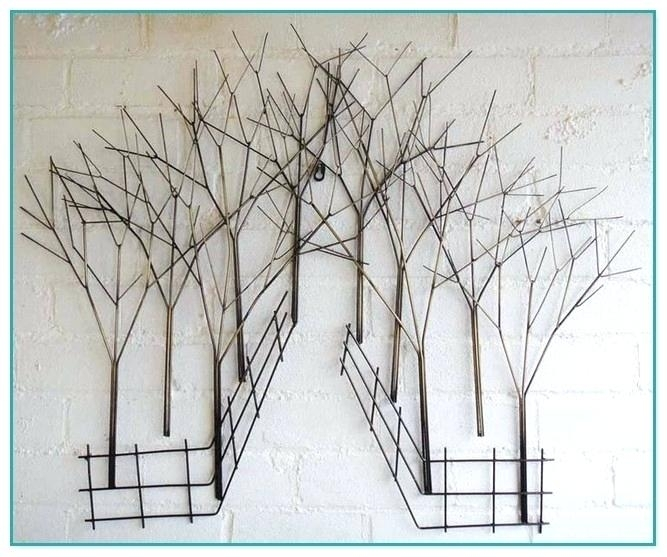 Wire Wall Art Diy Wire Tree Wall Art – Fashionnorm (Image 21 of 25)