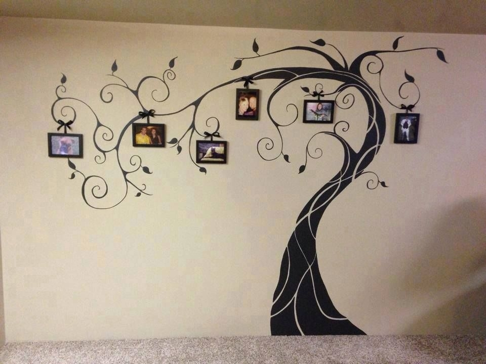 Wonderful Diy Amazing Family Tree Wall Art | Photos | Pinterest With Regard To Family Tree Wall Art (View 6 of 10)