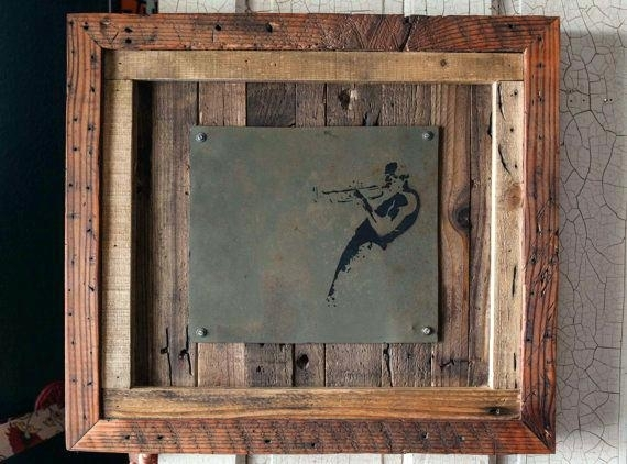 Wood And Iron Wall Art Medium Size Of Metal Wall Decor Wrought Iron In Wood And Metal Wall Art (View 11 of 25)