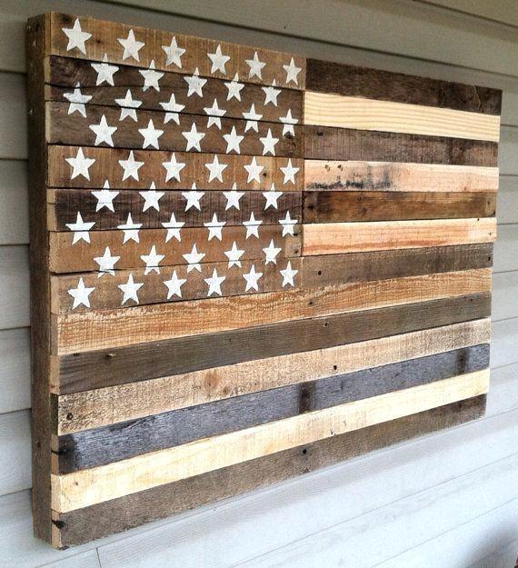 Wood And Metal American Flag Metal Flag Wall Art Art Most Within Rustic American Flag Wall Art (Image 23 of 25)