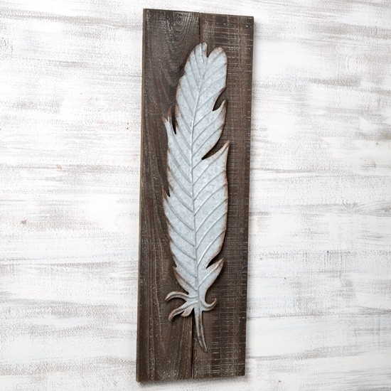 Featured Image of Feather Wall Art