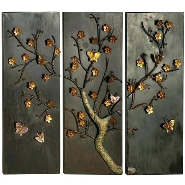 Wood And Metal Wall Art Wall Art Wood Metal And Fabric Designs Crate With Regard To Wood And Metal Wall Art (Image 19 of 25)