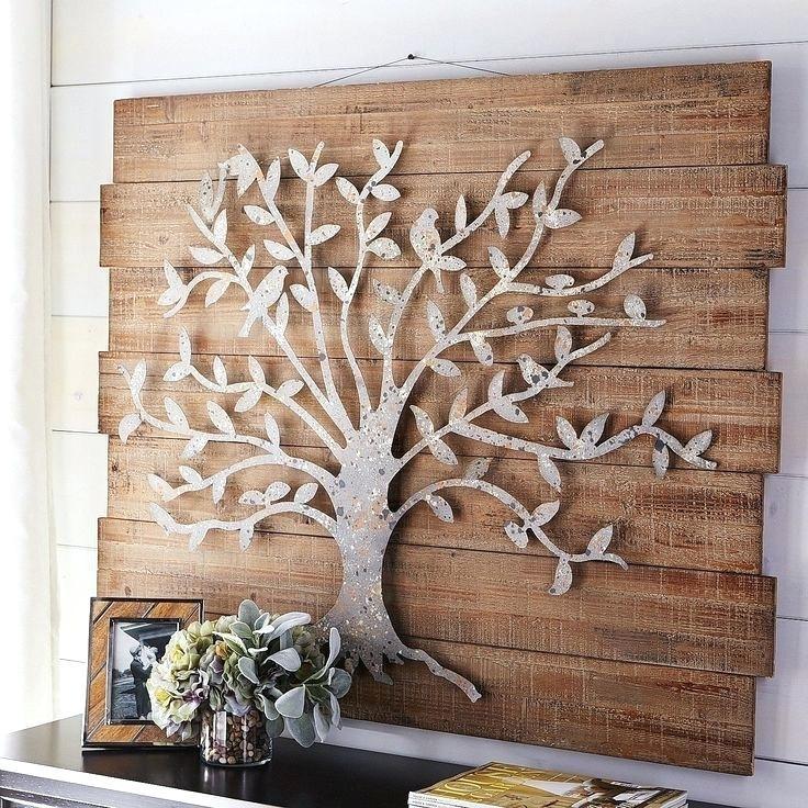 Wood And Metal Wall Panel Decorative Metal Wall Panels Decor Metal In Wood And Metal Wall Art (View 6 of 25)