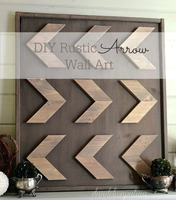 Wood Arrow Wall Art Rustic Arrow Wall Art Using Homestead House Milk Pertaining To Arrow Wall Art (Image 19 of 20)