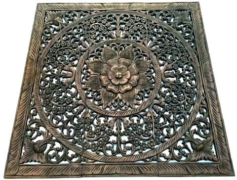 Wood Carved Wall Art Panels Wood Carved Wall Art White Inspirational For Carved Wood Wall Art (View 8 of 10)