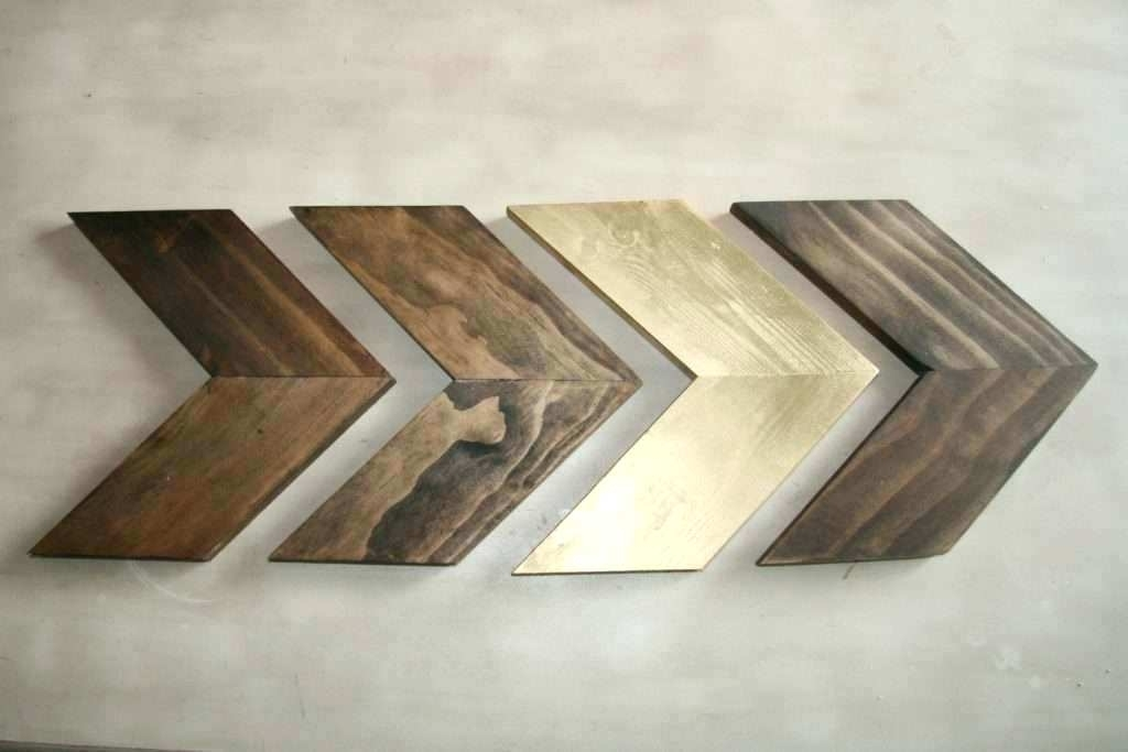 Featured Image of Chevron Wall Art