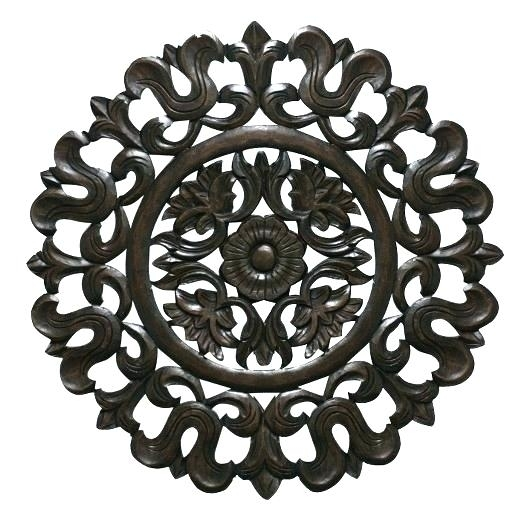 Wood Medallion Wall Art Best Carved Wood Wall Art Ideas On Chrysalis In Wood Medallion Wall Art (Image 15 of 25)