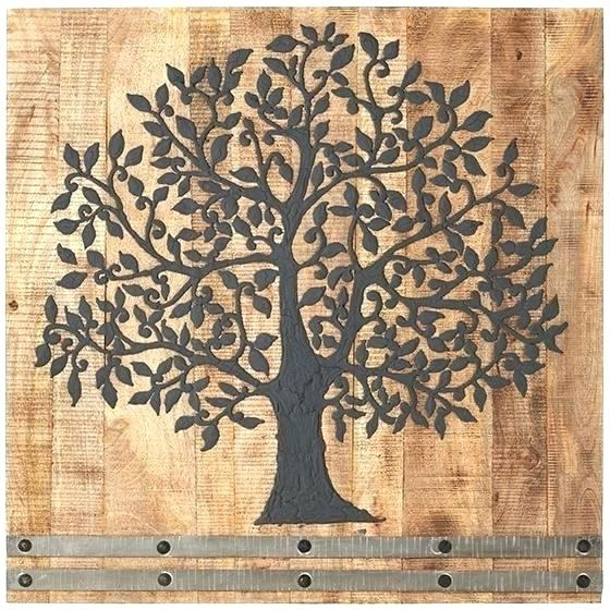 Wood Medallion Wall Art Iron And Wood Wall Decor Iron Innovative Within Wood Medallion Wall Art (View 17 of 25)