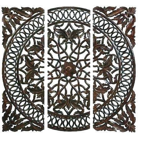 Wood Medallion Wall Decor Wood Medallion Wall Art Metal Medallion Regarding Wood Medallion Wall Art (View 21 of 25)