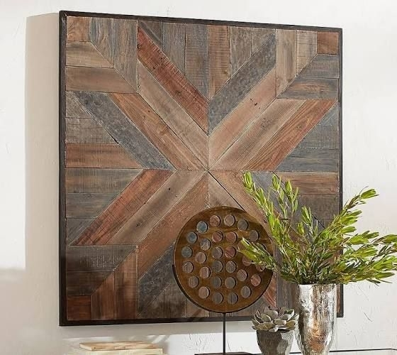 Wood Plank Wall Art | Art | Pinterest | Wood Plank Walls, Planked With Regard To Plank Wall Art (Image 14 of 20)