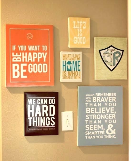 Wood Sayings For The Wall Coffee Wood Sign Kitchen Wall Decor Home Pertaining To Wall Art Sayings (View 22 of 25)