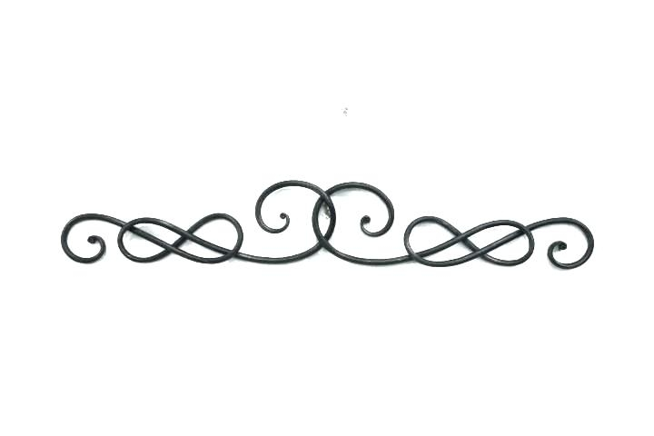 Wood Scroll Wall Decor Carved Wooden Wall Art Decor Wood And Metal For Metal Scroll Wall Art (Image 20 of 20)