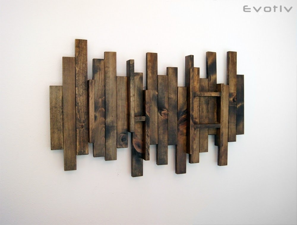 Wood Wall Art – Contemporary Wood Wall Art – Youtube Throughout Wood Art Wall (Image 17 of 20)