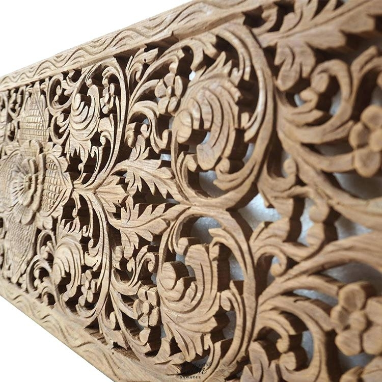 Wood Wall Art Panel Wooden Wall Art Panels Furniture White Wash Wood With Regard To Wood Carved Wall Art (View 24 of 25)