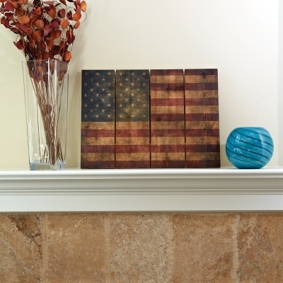 """Wooden American Flag Wall Art (33"""" X 24"""") – From Sporty's Tool Shop In Wooden American Flag Wall Art (Image 15 of 25)"""