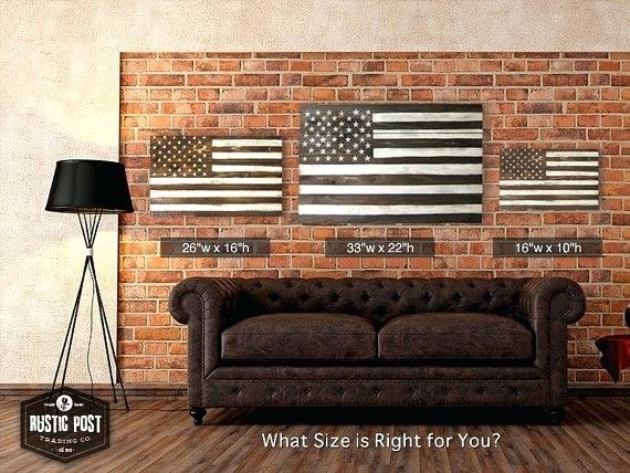 Wooden American Flag Wall Hanging Pretentious Inspiration Wooden Within Wooden American Flag Wall Art (Image 24 of 25)