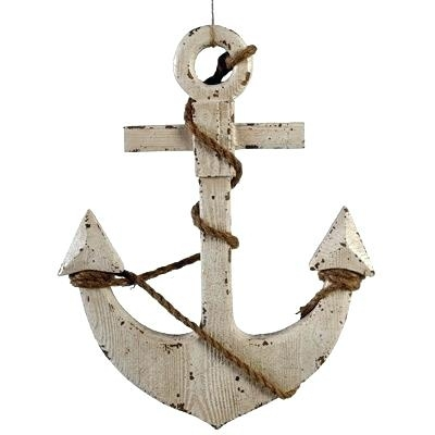 Wooden Anchor Wall Decor Anchor Decorations Wood Anchor Wall Decor For Anchor Wall Art (Image 23 of 25)