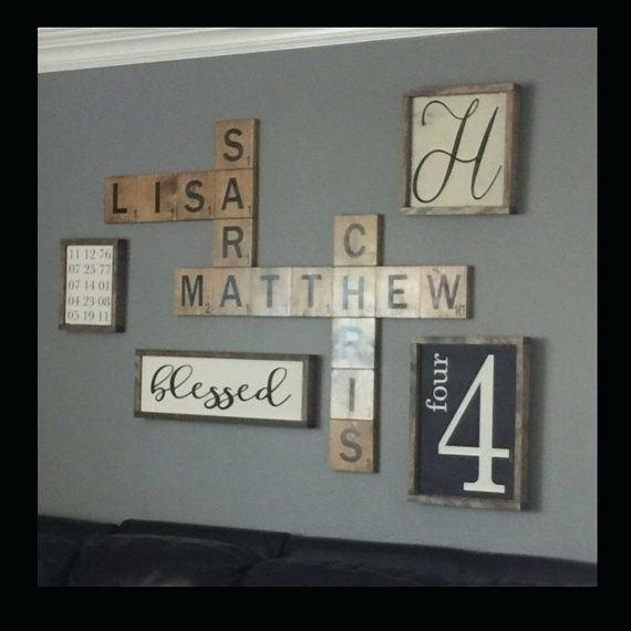 Wooden Name Wall Decor – Historycentre Throughout Personalized Wood Wall Art (View 14 of 25)