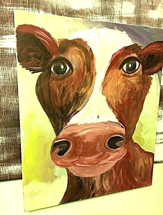 Work Cow Canvas Wall Art Cheap Australia – Dialysave Intended For Cow Canvas Wall Art (View 21 of 25)