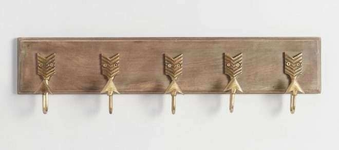 World Market Metal Wall Art Best Of Brass Metal Arrow 5 Hook Wall Pertaining To World Market Wall Art (View 11 of 25)