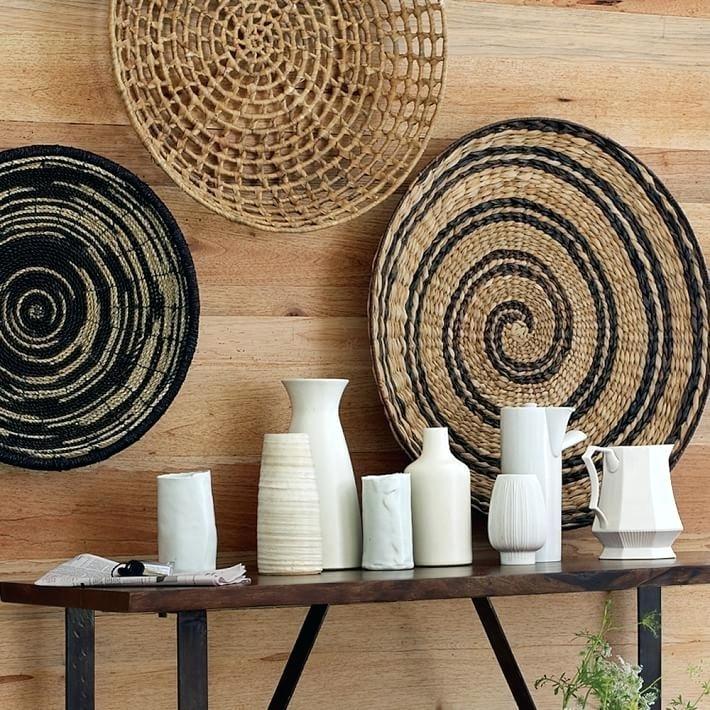 Woven Basket Wall Art Bright Idea Basket Wall Decor With Woven In Woven Basket Wall Art (Image 13 of 25)