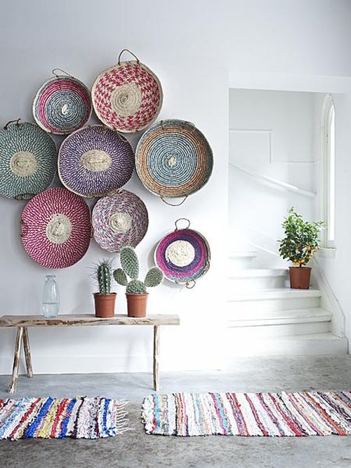 Woven Baskets As Wall Art | The Style Files In Woven Basket Wall Art (View 17 of 25)