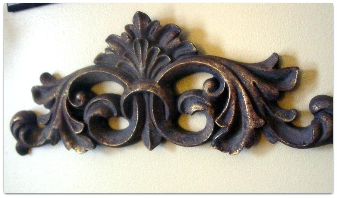 Wrought Iron And Wood Wall Decor Metal Wall Styh Sign Ias Home Cor With Regard To Hobby Lobby Metal Wall Art (View 20 of 25)