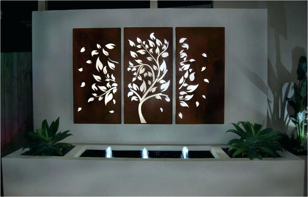 Wrought Iron Outdoor Wall Decor Outdoor Iron Wall Decor Contemporary With Regard To Outdoor Metal Wall Art (Image 10 of 10)